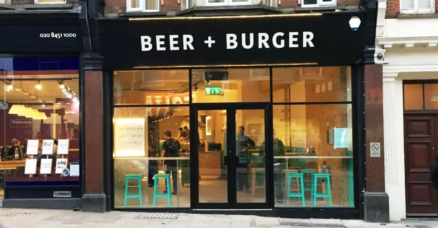 BEER + BURGER STORE WILLESDEN
