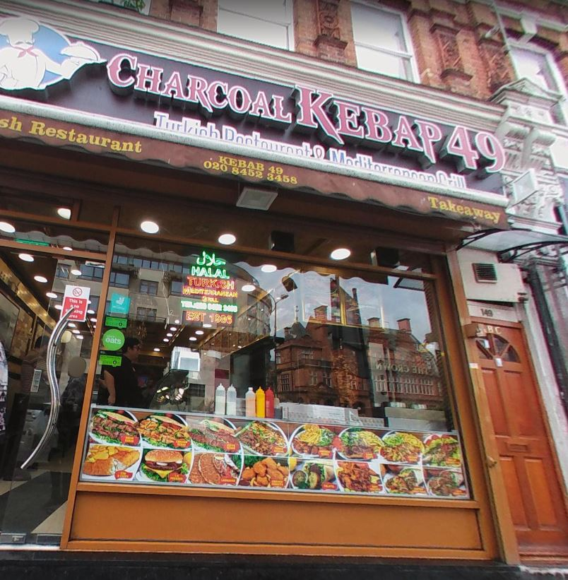 Charcoal Kebap 49 London