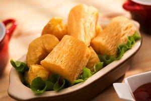 cassava deep fried