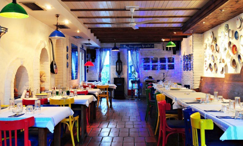 Greek eating place