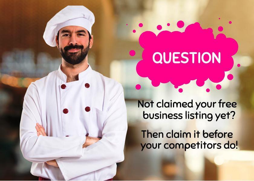 Claim Listing - Restaurant Chef